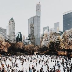 Christmas inspiration by Soho House Ice skating in New York by Soho House Soho House, Casa Soho, New York Weihnachten, Oh The Places You'll Go, Places To Visit, Ville New York, New York Winter, Voyage New York, Christmas Aesthetic