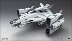 Destiny - Player Ship, Mark Van Haitsma on ArtStation at http://www.artstation.com/artwork/destiny-player-ship