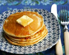 Slightly sophisticated pancakes, perfect for weekend brunch.
