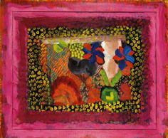 Mr and Mrs James Kirkman · Howard Hodgkin Abstract Painters, Abstract Art, Howard Hodgkin, Magical Paintings, Famous Art, Figure Painting, Abstract Expressionism, Collage Art, Art Lessons
