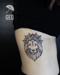 lion tattoo, lion mandala, mandala tattoo, blackwork, greenpoint, tatouage, cotes, ribbs , brooklyn, greenpoint, newyork