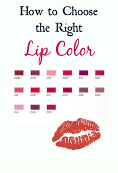 How to choose the right lip color #sponsored