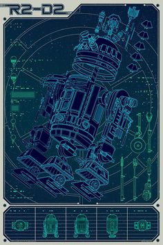 Mondo R2-D2 by Official Star Wars Blog,