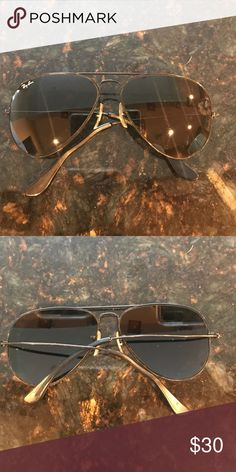 Authentic vintage Ray-Ban s These are a used pair of authentic vintage  Raybans the color e114f166e4