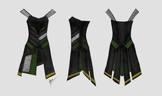 Loki's Dress Concept by ~Distorted-Eye on deviantART