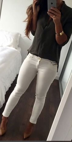 how to style white skinny jeans outfits _15.jpg