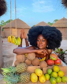 African Hairstyles, Afro Hairstyles, Afrique Art, African Proverb, Black Girl Aesthetic, Dark Skin Beauty, Black Beauty, Glam Hair, My Black Is Beautiful