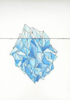 Iceberg Art Print   McKenzie