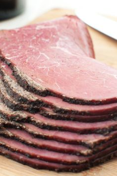 Day Four Dinner: Easy Homemade Pastrami