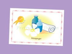 Printable Massage Card, Ready to print Massage coupon, digital coupon, Couple Printable coupon, Birthday printable gift, Instant download - pinned by pin4etsy.com