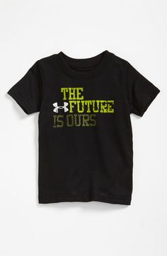 Under Armour 'The Future Is Ours' T-Shirt (Infant) | Nordstrom