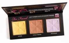 Too Faced #TFNoFilter Selfie Powders Palette