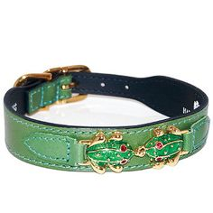 Leap Frog Dog Collar
