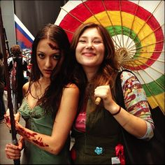 kaylee and river from firefly