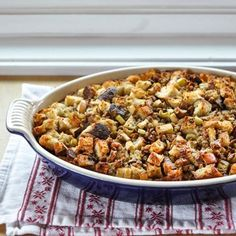 How To Make Bread Stuffing (Dressing) for Thanksgiving — Cooking Lessons from The Kitchn