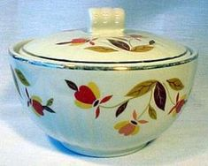 Autumn Leaf Grease Bowl. Click the image for more information.