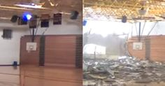 When A Tornado Hit An Indiana High School, It Was A Miracle That No One Was Inside