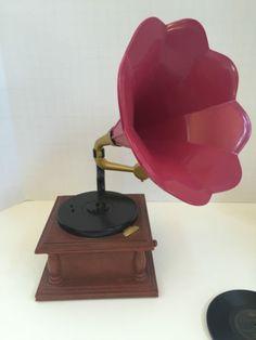 American-Girl-Rebecca-Our-Generation-BJD-Phonograph-Set-Gramophone