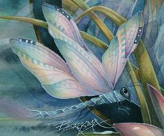 lotus flower and dragonfly | Painting Dragonflies And The Color Turquoise | Art With Heart: Drawing ...