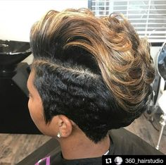 46 Cool African American Short Pixie Haircuts Ideas – Black Haircut Styles Related Short And Stylish Hairstyles For Women Over Haircuts for Older Women 2014 - Being older and older is something to be e.Makeup Tricks That Erase Years Short Haircut Styles, Short Pixie Haircuts, Short Black Hairstyles, Short Styles, Straight Hairstyles, Black Pixie Haircut, African Hairstyles, Weave Hairstyles, Girl Hairstyles