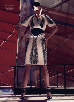 she wants to move: coco rocha by todd barry for harper's bazaar australia august 2013   visual optimism; fashion editorials, shows, campaigns & more!