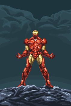 Discover & share this Marvel GIF with everyone you know. GIPHY is how you search, share, discover, and create GIFs. Marvel Gif, Marvel Comics Art, Marvel Avengers, Pixel Art, Arte 8 Bits, Gifs, Cool Animations, Cartoon Shows, Comic Character