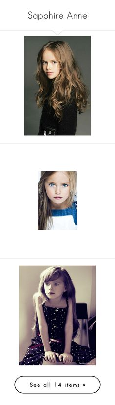 """Sapphire Anne"" by sweettbb on Polyvore featuring kids, girls, baby and kristina pimenova"