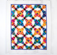 Kona Cotton Pineapple Punch Quilt Kit - White