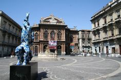 Catania, Sicily   Been here. In this square. :)