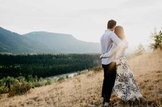 Canmore engagement shoot