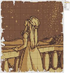 Zelda -free cross stitch pattern