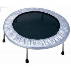 ATHLETIC24 97 cm - Trampolína fitness / strieborná #trampolína #trampoline #trampoliny.sk