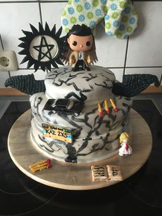 My version/Supernatural cake