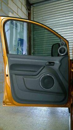 Dynaudio 3way in Caddy 2k doors by Harwood Accoustics