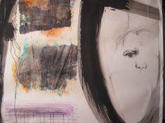"""Una delle quattro opere su Garcia Lorca nella mostra """"Bianche di nuovo, in maggio, di voluttuosa... """" al Museo della Corona Arrubia - Villanovaforru- Collinas (Cagliari)"""
