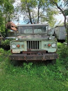 The Chevrolet XM705 was an experimental military vehicle that never went into production. This one is sitting out in the woods and needs restoring. #Chevrolet