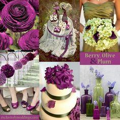 Pretty in plum & Olive