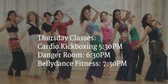 Thursday Class Schedule!