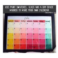 Make an easy Calendar
