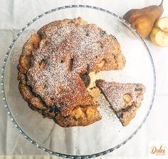 Torta Mele Pere e Cioccolato Senza Burro - Dolci Senza Burro