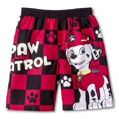 Nickelodeon Paw Patrol Boys Marshall Swim Trunks Sz 4T New with Tags!! Sold in My Ebay Store!!