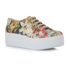 SNEAKERS MOD  C108S2663 - EXE Φλοράλ αθλητικά παπούτσια 7e047da1f08