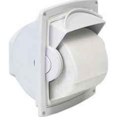 Dryroll is a watertight toilet tissue dispenser ideal for combination shower/heads.  Recessed or surface mount. Dryroll will eliminate wet toilet paper completely.