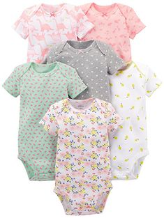 Simple Joys by Carters Baby-Body 6 St/ück /ärmellos