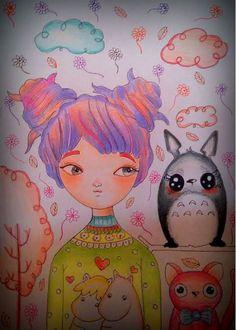 Karen Steph「My little Totoro」