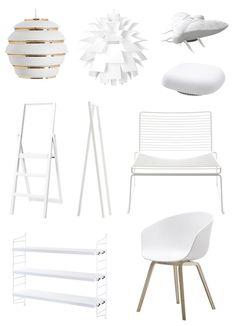 Via Koti ja Sisustus | Scandinavian Design | White | Hay | String | Normann Copenhagen