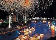 WOW. Must do. Tenjin Matsuri, Osaka, on 24th & 25th July. Festival of the Gods.
