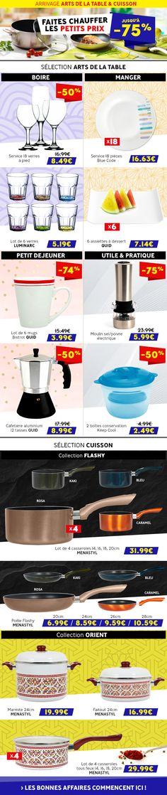 Excedence / newsletter Arts de la Table & Cuisson du 13/10/17 / crea DDC