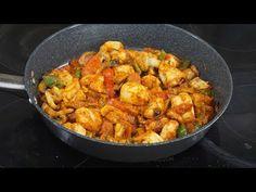 Τηγανιά κοτόπουλο - Tigania - Chicken fry-up - YouTube