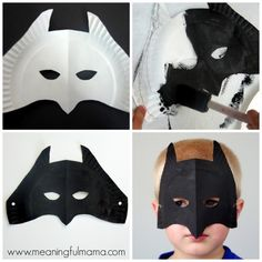 Super Hero Mask  Free Template   Things To Make